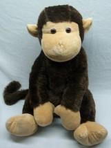 "Fiesta SOFT BROWN SITTING MONKEY 15"" Plush Stuffed Animal Toy - $19.80"