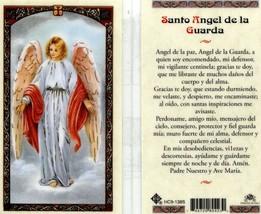Santo Angel de la Guarda Spanish Prayer Card Laminated - Item EB163 - de... - $2.79