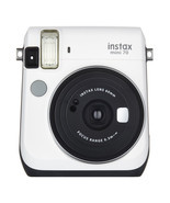 Moon White Colour FujiFilm Instax Mini 70 Instant Photos Films Polaroid ... - ₹8,959.72 INR