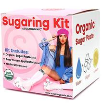Sugaring Hair Removal Waxing Kit - Organic Sugaring Paste for Brazilian, Legs, A image 10