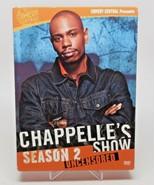 Chappelles Show - Season 2 Uncensored (DVD, 2005, 3-Disc Set, Checkpoint) - $12.75