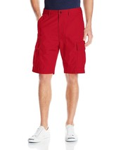 Levi's Men's Premium Cotton Carrier Twill Cargo Shorts Relaxed Fit Red 232510055