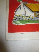 "Unused IRISH RECIPES LINEN Kitchen TOWEL -19 1/2"" x 31"" - $7.92"