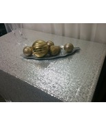 SEQUINS TABLECLOTHS SHAPES Colors Tablecloths Sequins  Square, Rectangle... - $64.00