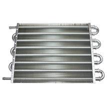 "3/8"" Universal Aluminum Transmission Oil Cooler 15-1/2"" x 10"" x 3/4"" image 7"