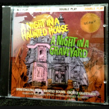BEST Halloween CD-NIGHT IN A HAUNTED HOUSE-NIGHT IN GRAVEYARD-Narrated S... - $18.78