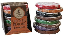 Taza Chocolate Organic Mexicano Disc Stone Ground, Variety Pack, 1.35 Ounce 8 Co