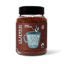 CLIPPER FAIRTRADE ORGANIC INSTANT MEDIUM ROAST ARABICA COFFEE, 200g - $33.17