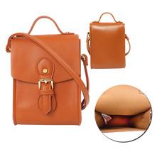 Women's Vegan Leather Mini Cross Body Strap Flight Bag Jet Set Travel Purse image 1