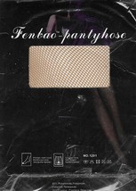 Fenbao Pantryhose Fish Net Tights Modern Look Beige Color Size Small - €8,40 EUR