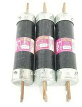 LOT OF 3 COOPER BUSSMANN FRS-R-175 FUSETRON FUSES FRSR175 CLASS RK5