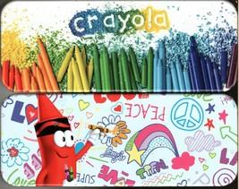 Crayola - Metal Tin Case Pencil Box Storage (Set of 2) - $17.81