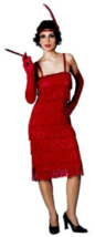 Miss Millie Flapper Adult Cosplay Halloween Costume Size Standard up to size 10 - $19.99