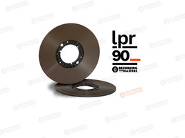 "RTM LPR90 BASF High Output LongPlay Reel Tape 1/4"" 3600' 1100m Authorise... - $45.05"
