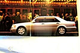1997 mercedes s class sales brochure s420 s320 s500 new original sedan coupe - $15.35
