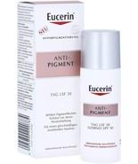 Eucerin ANTI-PIGMENT - Pigment Reducing Day Cream SPF30 - 50 ml Exp: 11/... - $35.00