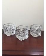 Rosenthal Candle Holder Studio Line Crystal Spiral Votive Table Germany ... - $27.69