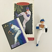 Nolan Ryan Hallmark Keepsake Ornament At The Ballpark #1 Collector's Ser... - $9.85