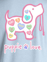 Puppie Love Rescue Dog Men Women Short Sleeve Graphic T-Shirt, Sweethearts Pup image 2