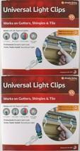 2x 100ct Simple Living Innovations Universal Christmas Light Gutter Clip... - $9.99