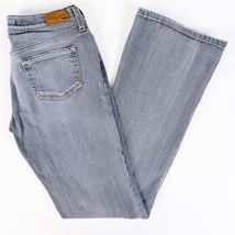 Mavi Jeans Aleisha 851 Slim Super Low Rise Grey Wash Size 27/32 - $19.58