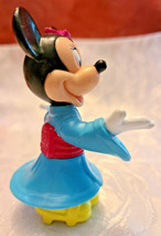 DISNEY EPCOT CENTER JAPAN MINNIE MOUSE KIMONO PVC FIGURINE TOY CAKE TOPPER image 2
