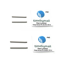 For PANERAI LUMINOR 2X Clasp Screw Pins 25.7mm / 28.6mm New Watch Spare ... - $20.97