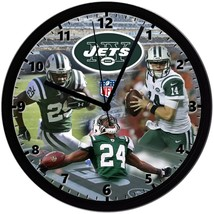 "New York Jets Homemade 8"" NFL Wall Clock w/ Battery Included - $23.97"