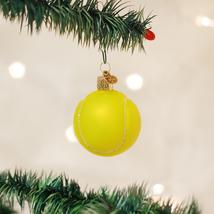 OLD WORLD CHRISTMAS TENNIS BALL GLASS CHRISTMAS ORNAMENT 44013 - $6.88