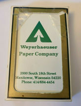 Weyerhaeuser Paper Company Gemaco Deck of Playing Cards   (#016) image 4