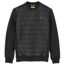 Timberland Men's Sport Leisure Black Quilted Pullover Jacket A1L9V - $79.99