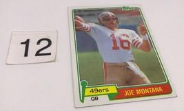 1981 Topps Joe Montana Rookie Card # 216 NM/NM-MT 7-8 Football RC Original OC - $56.99