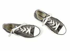 Converse Chuck Taylor All Star Low Top Tennis Shoes Sneakers Youth 2 M Gray - $14.98