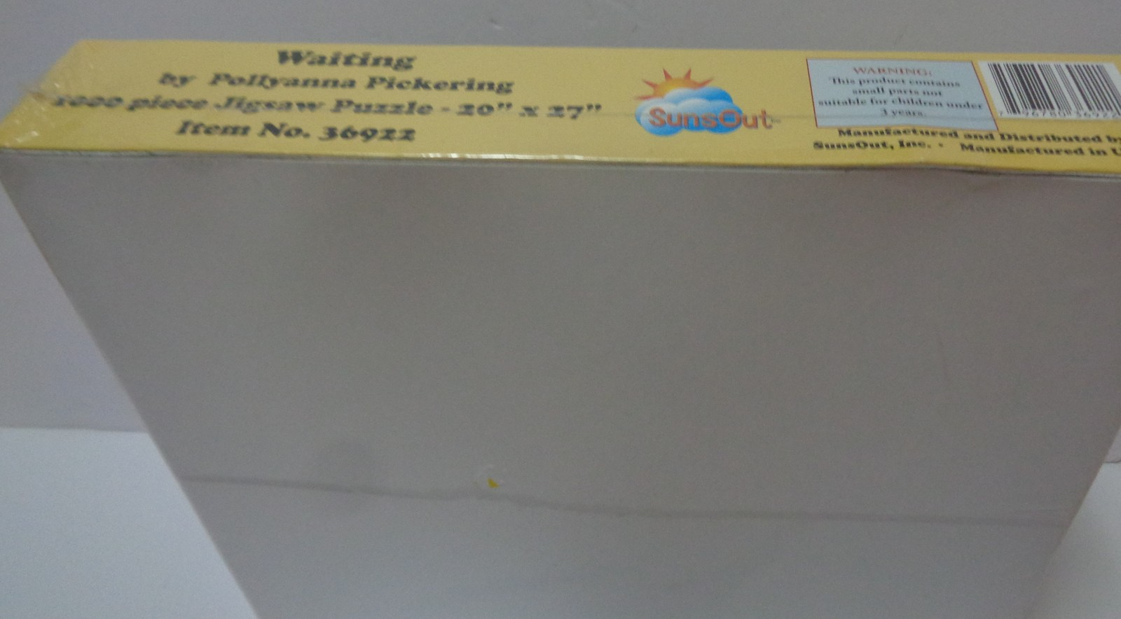 "Waiting by Pollyanna Pickering 1000 Piece Jigsaw Puzzle New Sealed 20"" x 27"" USA"