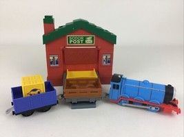 Thomas Track Master Sort & Switch Delivery Set Gordon Train Gullane 2013 Mattel - $24.70