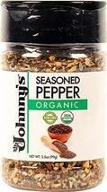 Johnny's Organic Seasoned Pepper 3.5 Ounce (Pack of 1) - $9.89