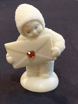 Snowbabies Dept 56 Extra Special Delivery Envelope With Topaz Heart. No ... - $5.00