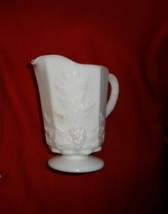 Westmoreland Milk Glass Paneled Grape Creamer - $8.00