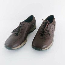Naturalizer Brown Leather Trekkers Shoes size 8  - $15.83