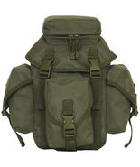 Tactical Military Recon Mission Dual MOLLE / Alice Butt Pack OD GREEN OL... - $39.15
