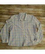 Orvis Women Shirt Long Sleeve Size 20 Mint Condition. - $16.34