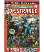 Marvel Premiere Comic Book #4, Dr. Strange 1972 FINE+ - $15.44