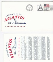AND NOW ATLANTIS 51-J KENNEDY SPACE CENTER FL OCTOBER 3 1985 WITH INSERT... - $1.78