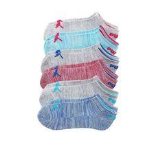 Puma Women's 6 Pack Low Cut Classic Sport Athletic Gym Moisture Control Socks image 6
