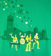 St Patrick's Day T Shirt L Magic Hat Beer Rock Band Irish green cotton m... - £9.29 GBP