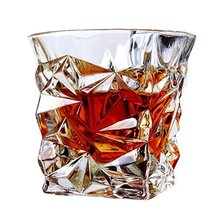 Unique Design Transparent Whiskey Glass Wine Cup Drinking Cup-A11 - $40.85