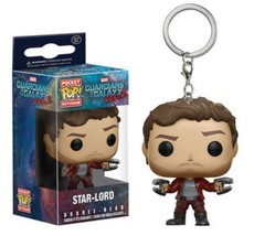 Funko Pop! Guardians Of The Galaxy Star Lord ActionFigure Keychain - $11.48
