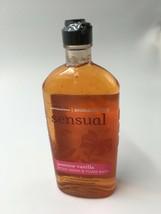 Bath Body Works Sensual Jasmine Vanilla Body Wash 10 oz Rare Bs56 - $22.43