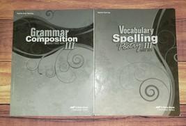 Abeka 9th Grade Current Ed. English Grammar Spelling Teacher Test Quiz K... - $18.42