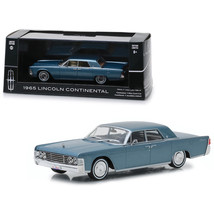 1965 Lincoln Continental Madison Gray Metallic 1/43 Diecast Model Car by Greenli - $27.20